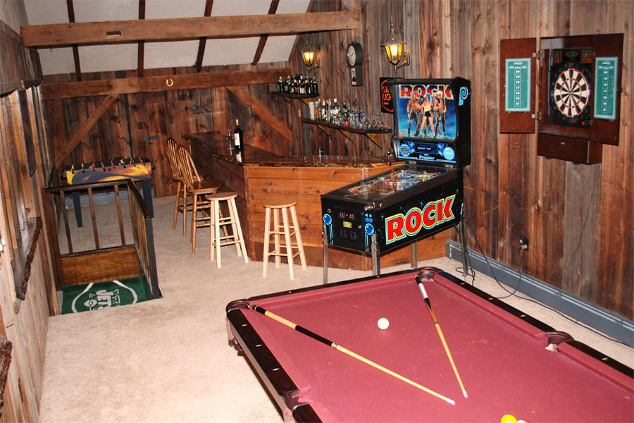 Pool Table in our Gameroom