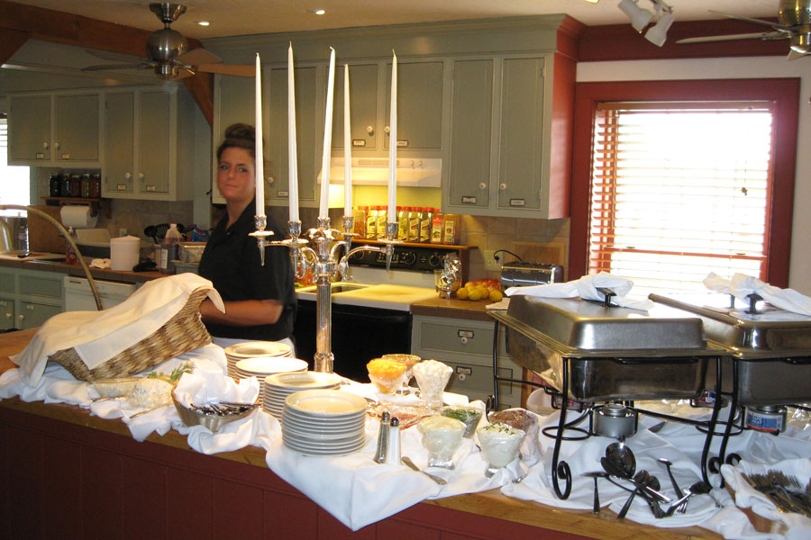 Wedding Catering in one of our kitchens